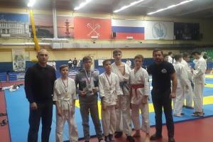 Всероссийские соревнования по рукопашному бою 2017