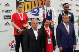 1 место на Первенстве Европы по боксу среди юниоров 2018